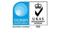 UKAS Logo OHSMS ISO 45001   200px
